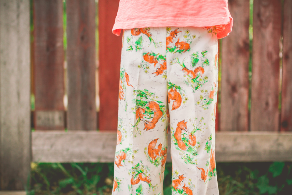 70's fashion | kid model | junior model | vintage bell bottoms | woodland critters | what does the fox say | traveling photographer | family photographer | lifestyle photography | living on a bus | vintage finds
