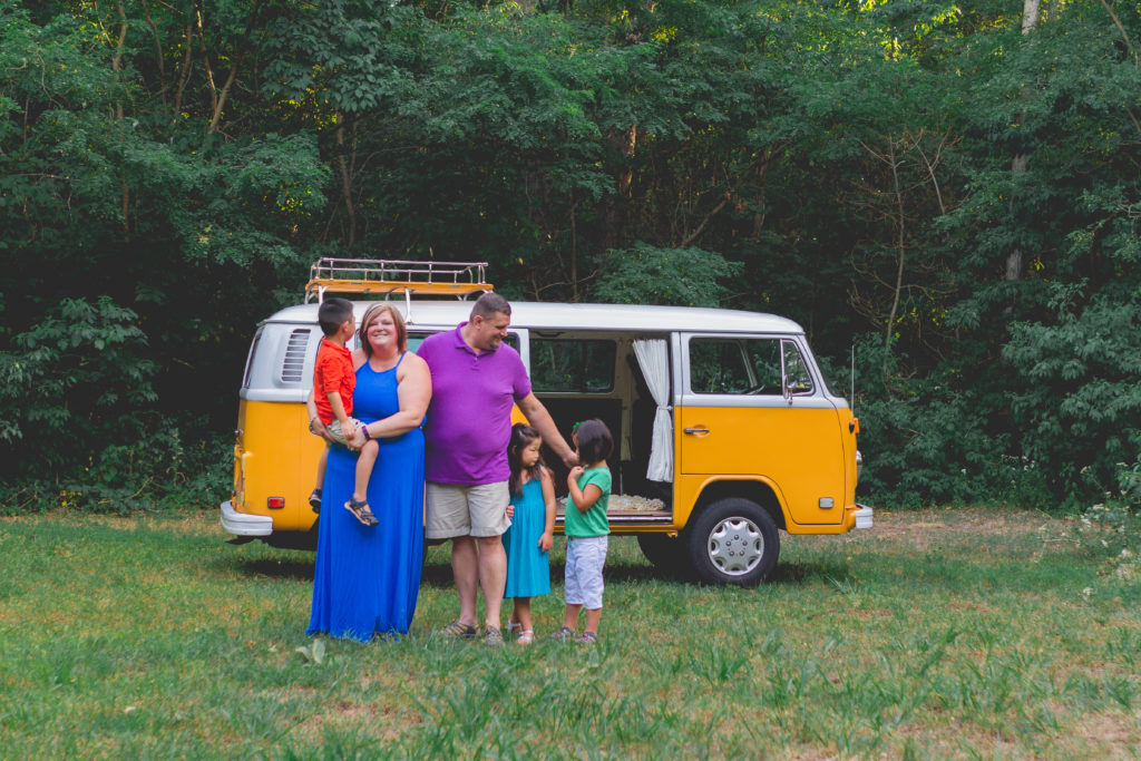 family portraits | family photographer | utah photographer | cache valley photographer | traveling photographer living on a bus | vintage bus conversion | family of 7 | bingham family | fall family pictures | west michigan photographer | michigan Photographer